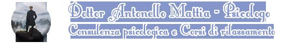 Antonello Mattia, Psicologo, Castelli Romani
