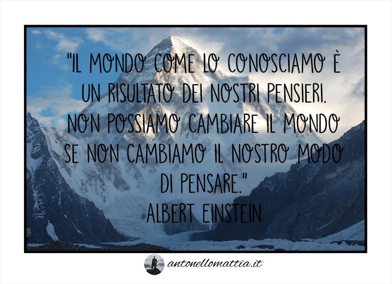 "Aforisma – ""Modo di pensare"" – Albert Einstein"